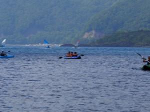 カブもボーイもカヌー体験