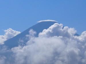 富士山山頂。