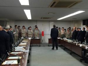 東京連盟の理事会にて